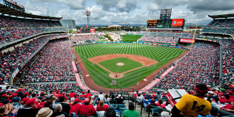 A Picture Of Angel Stadium
