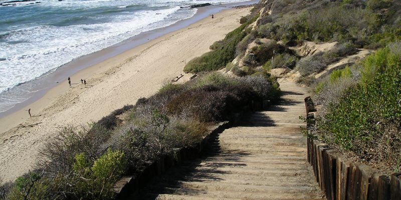 A Picture Of Crystal Cove State Park