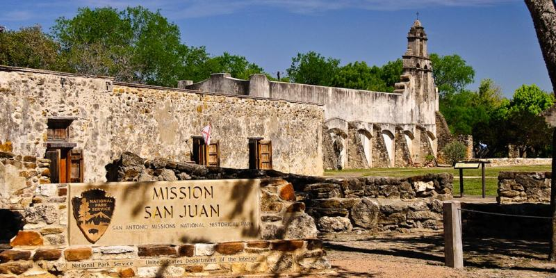 A Picture Of Mission San Juan