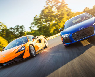 2017 Audi R8 V10 Plus vs. 2016 McLaren 570S: The Battle of Shenandoah