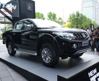 2017 Mitsubishi Triton Launched in Thailand