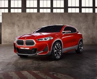 BMW Concept X2 Previews 2017 BMW F39 X2