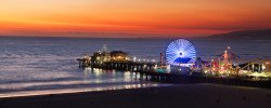 A Picture Of Santa Monica Pier