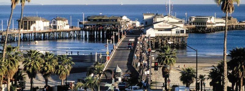 A Picture Of Stearns Wharf
